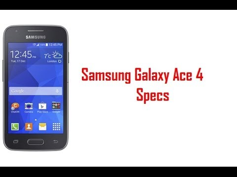 Samsung Galaxy Ace 4 Specs & Features