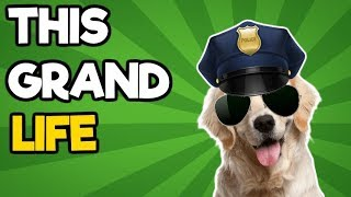 This Grand Life Impressions #2 - Doggocop Cares About Your Safety!