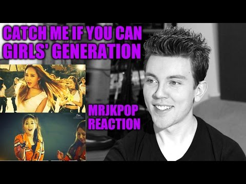 GIRLS GENERATION Catch Me If You Can Reaction Review MRJKPOP