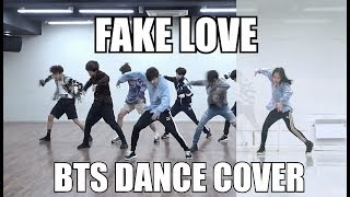 [XTINE] BTS (방탄소년단) - 'FAKE LOVE' Dance Cover (Practice video ver.)