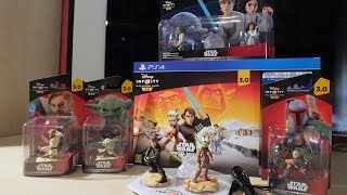 Disney Infinity 3.0 - UNBOXING - Edición Especial Star Wars - PS4