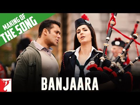 Making Of The Song - Banjaara - Ek Tha Tiger video