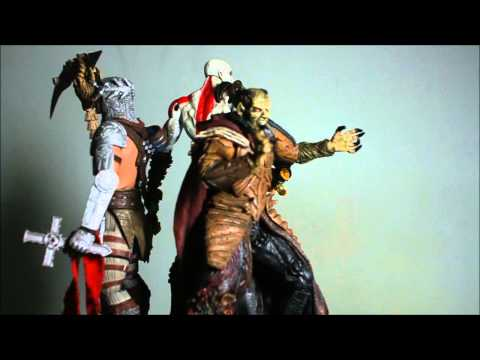 God of War. Dantes Inferno. and Wish Master Action Figure