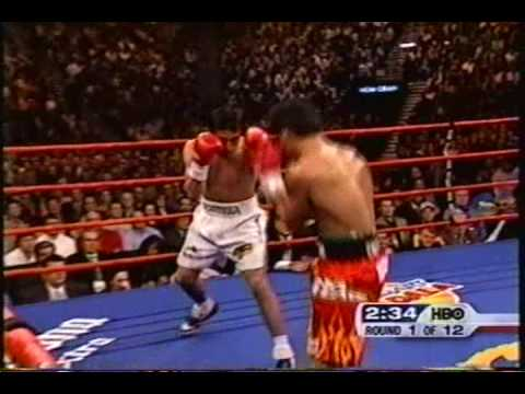 MANNY PACQUIAO VS ERIK MORALES 1 rd1 2005 Video