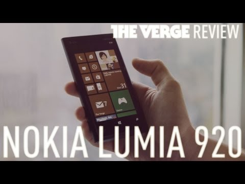 Nokia Lumia 920 hands-on review