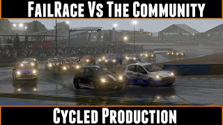 FailRace Vs The Community Cycled Production