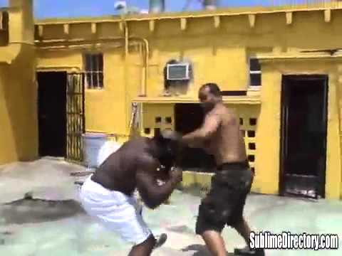 Kimbo Slice The Street Fighter Vs Chico The Boxer Best Of Street Fights HQ Image 1