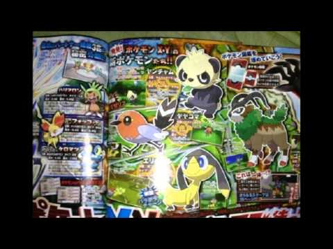 Nintendo 3DS News + Pokemon X & Y Four New Pokemon Revealed ! Which One Is Best ?