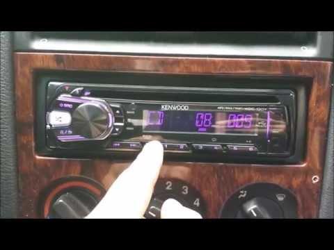 KENWOOD KDC-130Y Instalacja i uruchomienie radia w Oplu Astrze G