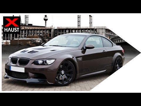 EXTREME BRUTAL BMW M3 E90 335i Conversion SOUND WITH CUSTOM EXHAUST - FLY BY and LAUNCH