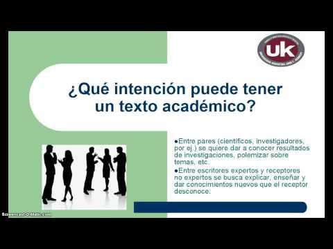 texto academico