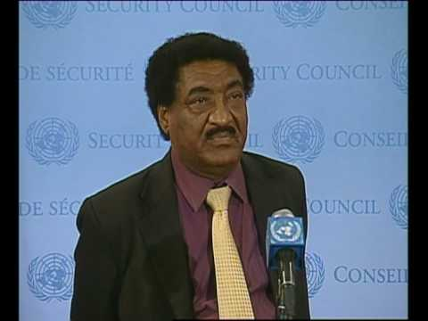 MaximsNewsNetwork: SUDAN: UN MISSION EXTENDED, ABDALMAHMOOD MOHAMAD (UNTV)