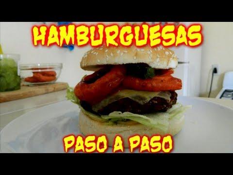 """Hamburguesas, Como preparar la Carne """"Paso a Paso""""  (TOQUE Y SAZÓN)"""
