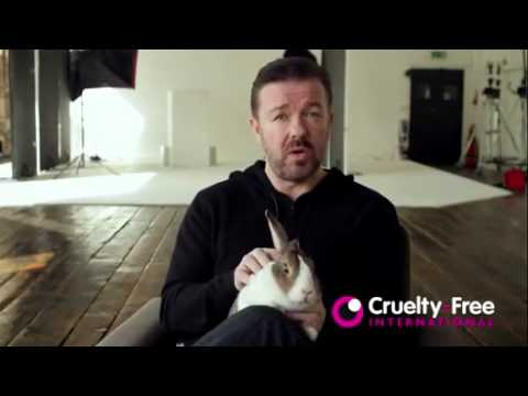 Ricky Gervais Against Animal Testing Supporting BUAV