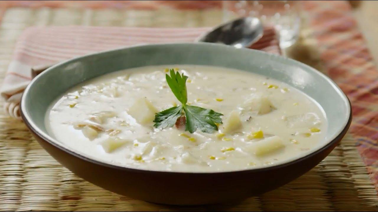 Corn Recipes - How to Make Grandma's Corn Chowder - YouTube