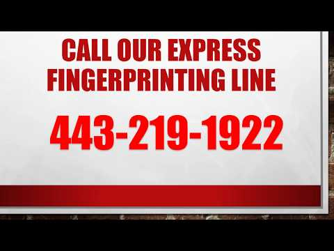 Fingerprinting Services For Nurses In Maryland