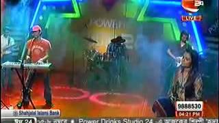 Hridoy Khan - Live Show Channel-24 Part-2 (www.addaenjoy.com)