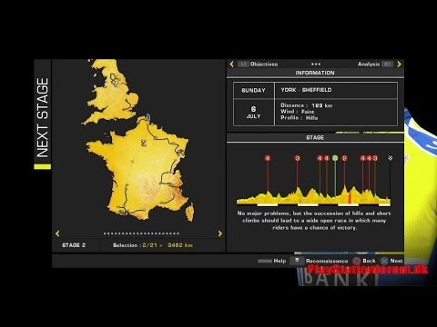 Tour De France 2014 - PS4 - Stage 2 - [ York - Sheffield ] - Chris in Polka Dot?