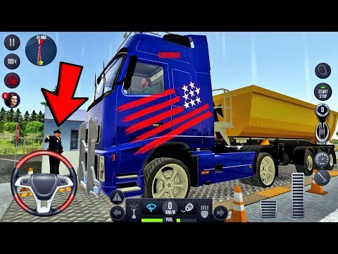 Truck Simulator 2018 Europe #15 Off Road Drive! - Android gameplay