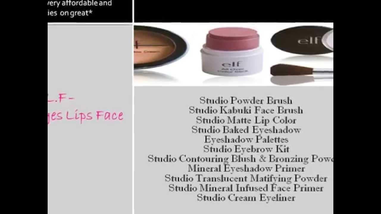 Makeup brand names list
