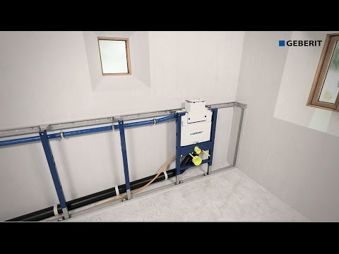Duofix videolike for Geberit installation system