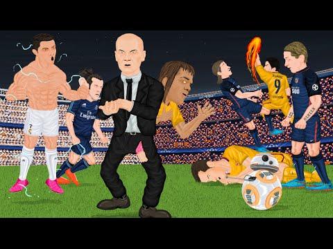 Parodia animada de los Cuartos de Final de Champions League