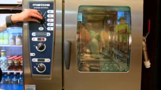 Training video: Metos CombiMaster Plus combi steamer / How to save cooking programs