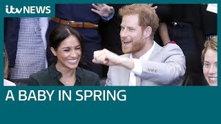 Meghan Markle and Prince Harry expecting a baby in the spring | ITV News