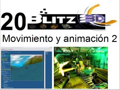 video20 - Blitz 3d - Moviendo y animando sprites 2
