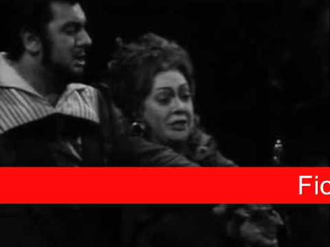 Fiorenza Cossotto &amp; Plcido Domingo: Verdi - Il Trovatore, &#039;Madre, non dormi&#039;