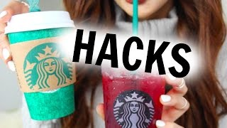 9 STARBUCKS HACKS YOU NEED TO TRY!