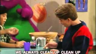 Barney - Clean Up Song