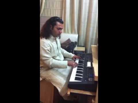 Zihale Muskin Song from from the movie Ghulami on Keyboard