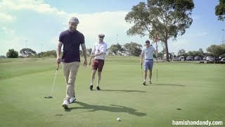 Golf Heckling With Justin Timberlake