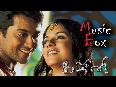 Ghajini (Tamil 2005) - Juke Box | Suriya | Asin | Nayanthara | Harris Jayaraj | A. R. Murugadoss