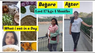 What I Eat in a Day to Loose Weight - Lost 17 Kgs in 4 months- Indian Vegetarian Diet| Preeti Pranav