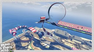 2 NEW 'CUNNING STUNTS DLC' AIRPORT STUNT RACE TRACKS
