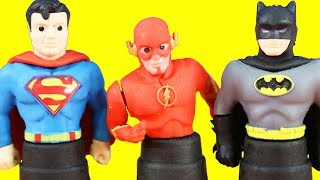 Imaginext Justice League Gets Surprise Toys ! The Flash And Batman ! Superhero Toys