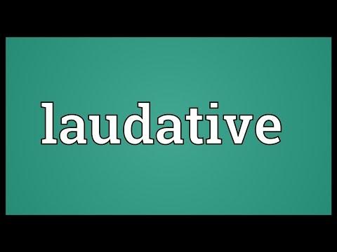 Header of laudative