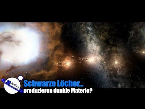 Schwarze löcher produzieren dunkle Materie?