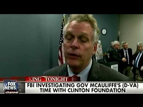 Hillary Clinton's Possible Running Mate,Terry McAuliffe, ALSO Under FBI Investigation for Corruption