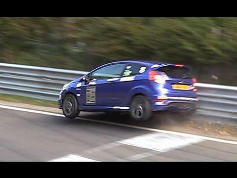HARD Ford Fiesta ST CRASH Nordschleife Nürburgring Touristenfahrten