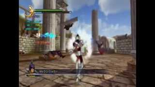 Los Caballeros del Zodiaco parte 1 Saint Seiya PS3 Batalla Santuario