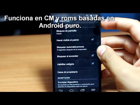 Máxima Seguridad con un Patrón de Bloqueo [ Xposed ]   Android Personal