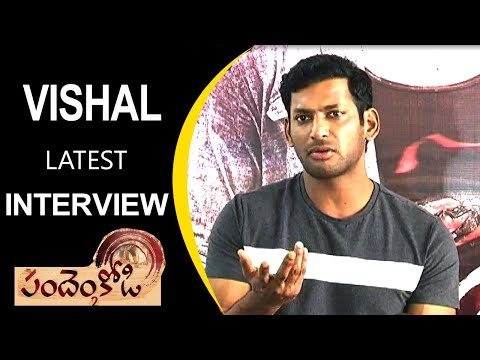 Vishal: Pandem Kodi 2 Movie Interview | Hero Vishal's Latest Telugu Interview | Tollywood Nagar