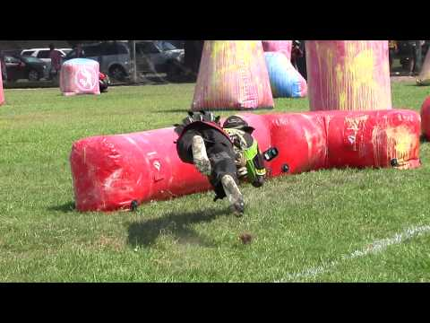 Fresh College Paintball Action from the 2012 NCPA Nationals