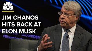Tesla Short-Seller Chanos Responds To Musk's Allegations