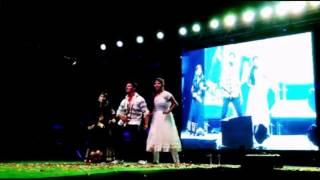 alluarjun and aadi  song dance by sunilsohan,jeevana&sweetha in MREM COLLEGE