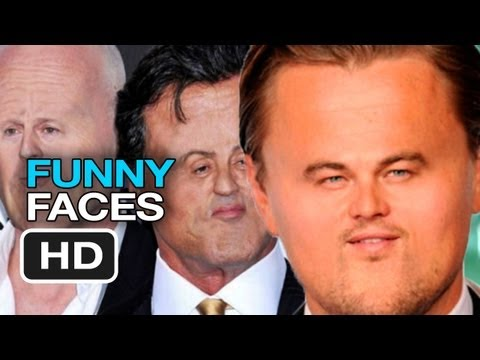 Funny Shrunken Faces of Famous Actors