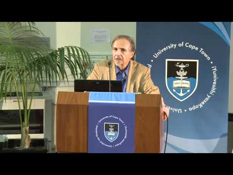 Professor Arthur Kleinman speaks at UCT on caregiving and goodness